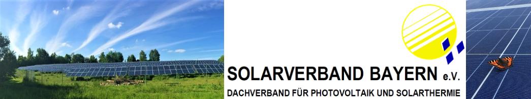 Solarverband Bayern e.V. Logo