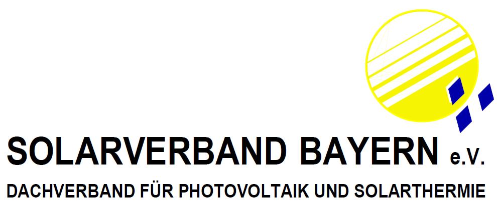 Logo Solarverband Bayern e.V.